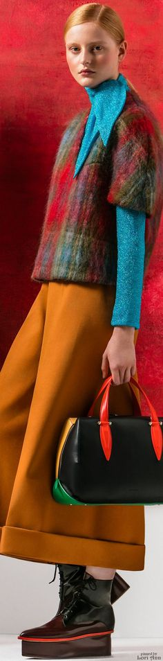 ::::♡ ♤ ♤ ✿⊱╮☼ ☾ PINTEREST.COM christiancross ☀❤ قطـﮧ‌‍ ⁂ ⦿ ⥾ ⦿ ⁂ ❤U •♥•*⦿[†] :::: Delpozo Pre-Fall 2016