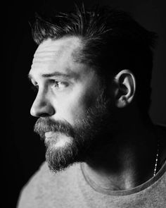 Tom Hardy photographed by Jeff Vespa.
