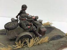 1//35 Scale resin model kit WW2 U.S #1 Army Airborne sur Sherman