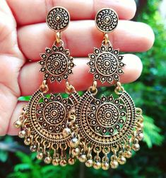 Beaded bridal earrings sterling silver Ideas for 2019 Silver Drop Earrings, Bridal Earrings, Sterling Silver Earrings, 925 Silver, Earrings Uk, Silver Jewellery Indian, Indian Earrings, Silver Jewelry, Silver Rings