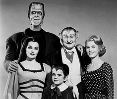 Munsters (TV Show)...Although it was filmed and originally aired in the 1960's, it was in heavy syndication in the 80's