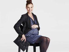 Cool, calm & corporate - maternity workwear #fashion #motherandbaby
