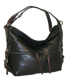 5ec96cc707 Nino Bossi Handbags Black Hollywood Hobo