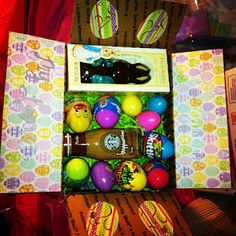 Care package ideas  My first package will be for Easter! : (