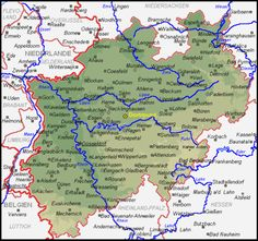 Map Of German Cities Google Search MAPS Pinterest City - Germany map in 1850