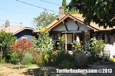 Darling single family with beautiful sunflowers in the front yard - St. Portland Neighborhoods, Columbia River, Portland Oregon, Single Family, Small Towns, Sunflowers, The Neighbourhood, University, Yard
