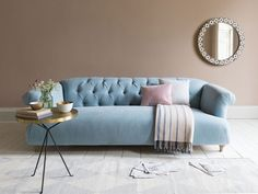 27 Incredible Contemporary Sofa Ideas : First-Rate contemporary sofa Ideas. Cushions On Sofa, Sofa Set, Blue Sofas Living Room, Contemporary Sofa, Sofa Design, Classic Sofa, Comfy Sofa, Contemporary Home Decor, Sofa