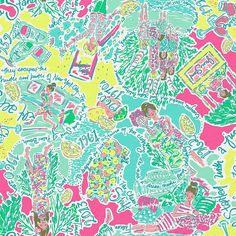 Lilly Pulitzer In The Beginning Print