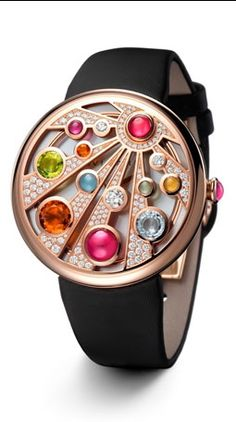 TOP 10 Most Expensive Wrist Watches In The World - Watch - Ideas of Watch - Bulgari Jewellery Mediterranean Eden. Hard to read the time but would make a good bracelet. High Jewelry, I Love Jewelry, Jewelry Accessories, Jewelry Design, Bvlgari Watches, Luxury Watches, Fine Watches, Cool Watches, Wrist Watches