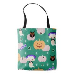 My cute Halloween Tote Bag - diy cyo customize create your own personalize
