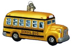 School Bus | Old World Christmas Glass Ornaments