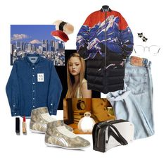 """mt. fuji"" by syarina ❤ liked on Polyvore featuring Emilio Pucci, Raf Simons, Puma, Chanel, Ray-Ban and Maison Margiela"