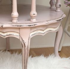Mersman Painted Round Table