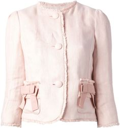 Love this: Bow Detail Jacket @Lyst  RED Valentino