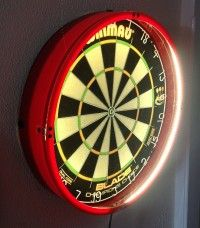 Here Is A New Led Light System That Can Be Ed In Seconds Andrei Răducanu Dartboard Surround