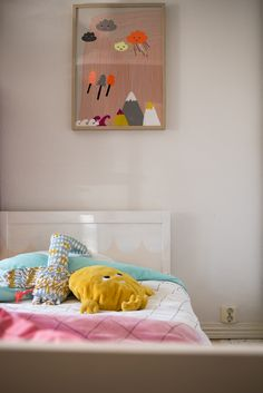 Kids Room, Kids Room Inspiration, Room Inspiration, Decor, Bed, Home, Toddler Bed, Home Decor, Room