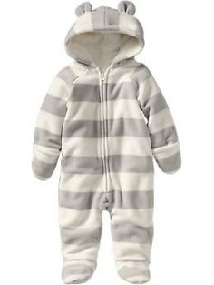 Micro Performance Fleece One-Pieces for Baby   Old Navy