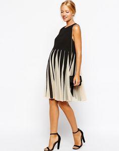 Maternity party dress.