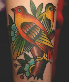 By Eli Quinters at Smith Street Tattoo Parlor