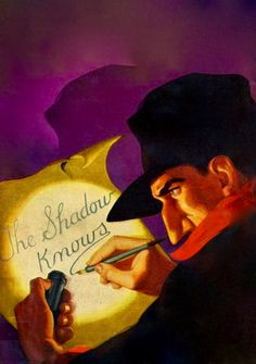 THE SHADOW PULP MAGAZINE COVER FOR THE GOLDEN VULTURE