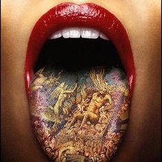 Do you know tongue tattoo designs? Here are the top 9 tongue tattoo designs that you can try out. Best 3d Tattoos, Weird Tattoos, Body Art Tattoos, Tatoos, Craziest Tattoos, Sleeve Tattoos, 3d Tattoos For Men, Soccer Tattoos, Insane Tattoos