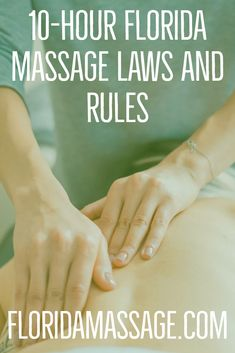 How To Get A Massage Establishment License in Florida