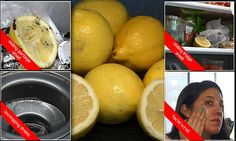 Video reveals seven life hacks you can do with lemons
