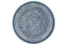 Polish Pottery 11-inch Plate | Boleslawiec Stoneware | Polmedia H3979B