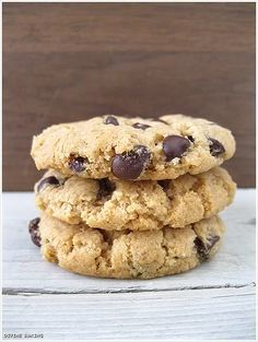 The Best Peanut Butter Cookie Ever (GF)- need a double recipe for sure as it yielded 32 for my double. SO GOOD! Not excessive pb flavor, and plenty of chocolate.  The girls and I love them!