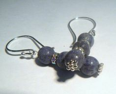 Blue Coral Earrings Rare and Exotic  Not by RosysJewelsandYarns, $18.00