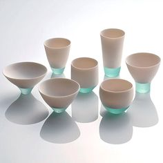 stuff veronica likes: Glass-porcelain fusion by Misa Tanaka