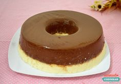 pudim prestígio Portuguese Desserts, Trifle, Flan, Nutella, Holiday Recipes, Delish, Cheesecake, Food And Drink, Bread