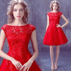 25546e3254e 27 meilleures images du tableau Robes Rouge