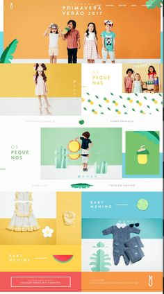 Geared toward children! Website Design Inspiration, Banner Design Inspiration, Website Layout, Web Layout, Layout Design, Design Design, Website Footer, Footer Design, Stand Design