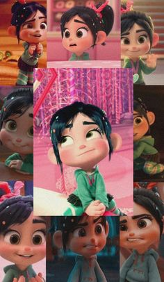 Cute Disney Characters, Who Knows Me Best, Vanellope Von Schweetz, Molang, Cute Disney Wallpaper, Otaku Anime, Pastel Colors, Aesthetic Wallpapers, Disneyland