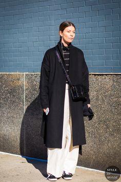 Annina Mislin Street Style Street Fashion Streetsnaps by STYLEDUMONDE Street Style Fashion Photography