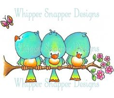 Whipper Snapper Designs is an expansive online store selling a large variety of unique rubber stamp designs. Fabric Painting, Painting & Drawing, Cute Clipart, Digi Stamps, Bird Art, Doodle Art, Bird Doodle, Cute Drawings, Rock Art