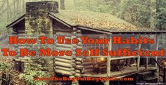 Are you dependent on modern conveniences? Intimidated by DIYs? It's time to learn new skills and ditch bad habits to make yourself more self sufficient!