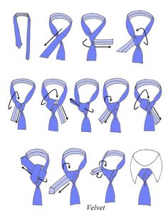 How to tie a tie - Velvet Knot How to tie a tie - Velvet KnotYou can find Tie knots and more on our website.How to tie a tie - Velvet Knot How to tie a tie - Velvet Knot Cool Tie Knots, Cool Ties, Polka Dot Bow Tie, Floral Bow Tie, Tie A Necktie, Necktie Knots, Mens Ties Crafts, Windsor Knot, Retro Mode