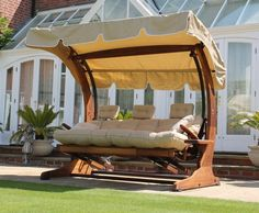 A slideshow showing luxury outdoor furniture that will transform the look and feel of your outdoor space in 2015 and make enjoying the outdoor life a pleasure.: