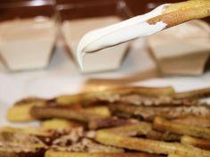 Jaleo en la Cocina: Un aperitivo fácil y rápido: palitos para untar