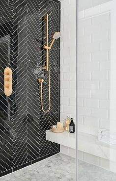 If you are confused what kind of shower room design suits your room. Below you can select design trend shower room. Inspiration design shower room tha… - New Deko Sites Bathroom Inspiration, Interior Inspiration, Design Inspiration, Fitness Inspiration, New Swedish Design, Diy Bathroom, Bathroom Ideas, Bathroom Black, Shower Bathroom