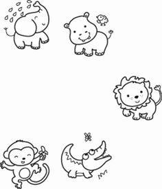 Illustration of Cartoon Monkeys Stock Photo - 17061724 ...