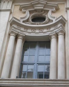 Borromini - Concave window - #Baroque #Architecture Italian