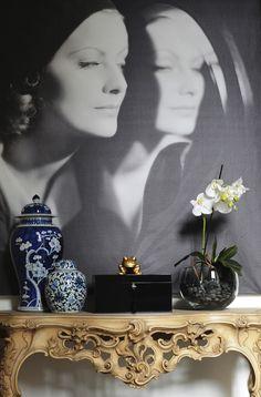 Aleksandra Miecznicka » Black&White ▇  #Home #Design #Decor  via IrvineHomeBlog - Christina Khandan - Irvine, California ༺ ℭƘ ༻