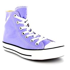 4e3b9b0cacb1 Womens Converse All Star Hi Chuck Taylor High Top Lace Up Boot Sneakers -  Lavender Glow