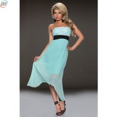 fashion dresses and evening wear, the perfect dress online in South Africa, secure payments and free delivery, shopping the easy way! Chiffon Dress, Strapless Dress Formal, Prom Dresses, Formal Dresses, Midi Cocktail Dress, Blue Lace, Dresses Online, Fashion Dresses, High Waist