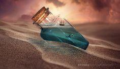 沙漠瓶 by bxtong on 500px