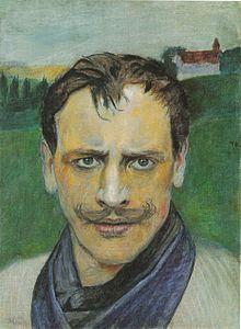 Harald Sohlberg (Norvège, 1896-1935) – Selvprotrett (1896)