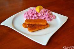 ♥Do bříška pro má zlatíčka ♥ - Inspirace u katyxq - bramborový salát s červenou řepou a rybí prsty z lídlu. Doporučuji tyto rybí prsty, je to opravdu obalená treska a né ochucená buchta, která kolem ryby jen proběhla :-) - Album uživatelky klaire22 - Foto 41 Lidl, Tuna, Food, Diet, Essen, Meals, Yemek, Eten, Atlantic Bluefin Tuna